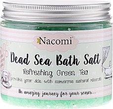 Parfumuri și produse cosmetice Sare de baie de la Marea Moartă pentru cadă cu aromă de ceai verde - Nacomi Dead Sea Bath Salt
