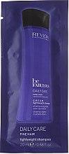 Parfumuri și produse cosmetice Șampon de curățare pentru păr subțire - Revlon Professional Be Fabulous Daily Care Fine Hair Lightweight Shampoo (mostră)