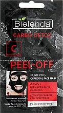 Parfumuri și produse cosmetice Mască de curățare cu carbon - Bielenda Carbo Detox Peel-Off Purifying Charcoal Mask