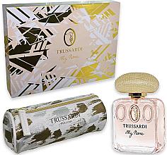 Parfumuri și produse cosmetice Trussardi My Name - Set (edp/50ml + bag)