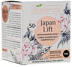 Parfumuri și produse cosmetice Cremă-concentrat de noapte pentru față 50+ - Bielenda Japan Lift Night Cream 50+