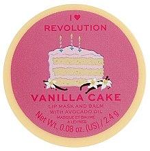 Parfumuri și produse cosmetice Balsam-mască de buze - I Heart Revolution Vanilla Cake Lip Mask & Balm