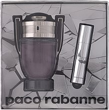 Parfumuri și produse cosmetice Paco Rabanne Invictus - Set (edt/100ml + edt/mini/10ml)