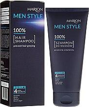 Parfumuri și produse cosmetice Șampon pentru bărbați - Marion Men Style Shampoo Against Greying