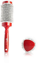 Parfumuri și produse cosmetice Thermobrushing 33 mm - Upgrade Triangular Concave Thermal Brush Red Angle