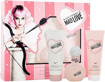Katy Perry Katy Perry's Mad Love - Set (Edp/50ml + b/lotion/75ml + sh/gel/75ml) — Imagine N1