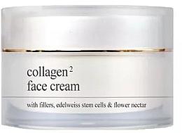 Parfumuri și produse cosmetice Cremă cu colagen pentru față - Yellow Rose Collagen2 Face Cream