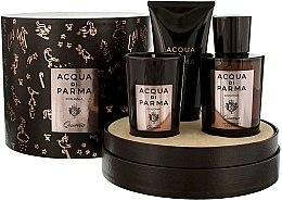 Parfumuri și produse cosmetice Acqua di Parma Colonia Quercia - Set (edc/100ml + candle/65g + sh/gel/75ml)