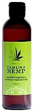 """Parfumuri și produse cosmetice Ulei pentru masaj """"Cânepă"""" - Yamuna Hemp Plant Based Massage Oil"""