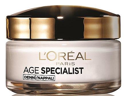 Cremă de zi împotriva ridurilor 65+ - L'Oreal Paris Age Specialist Restoring Day Anti Wrinkle Cream — Imagine N1