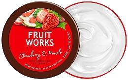 Parfumuri și produse cosmetice Ulei de corp - Grace Cole Fruit Works Body Butter Strawberry & Pomelo