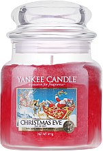 Parfumuri și produse cosmetice Lumânare parfumată, în borcan - Yankee Candle Christmas Eve