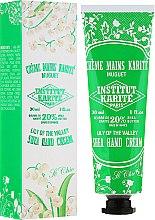 Parfumuri și produse cosmetice Cremă de mâini - Institut Karite So Chic Hand Cream Lily Of The Valley