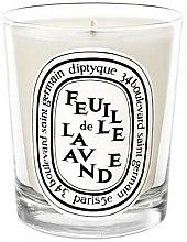 Parfumuri și produse cosmetice Lumânare aromatică - Diptyque Feuille de Lavande Candle