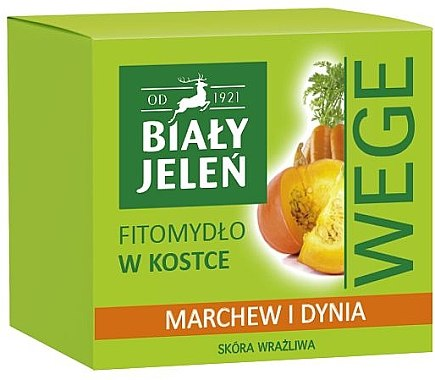 "Săpun ""Morcov și dovleac"" - Bialy Jelen Soap Carrot And Pumpkin — Imagine N1"