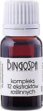 Parfumuri și produse cosmetice Complex format din 12 extracte de plante - BingoSpa