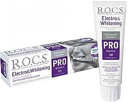 Духи, Парфюмерия, косметика Зубная паста к электрическим щеткам - R.O.C.S. Pro Electro & Whitening Mild Mint