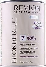 Parfumuri și produse cosmetice Pudră decolorantă (deschidere de până la 7 nivele) - Revlon Professional Blonderful 7 Levels Lightening Powder