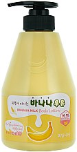 Parfumuri și produse cosmetice Loțiune de corp - Welcos Banana Milk Skin drinks Body Lotion