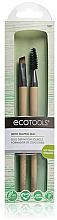 Parfumuri și produse cosmetice Set pensule pentru sprâncene, 2buc - EcoTools Brow Shaping Duo
