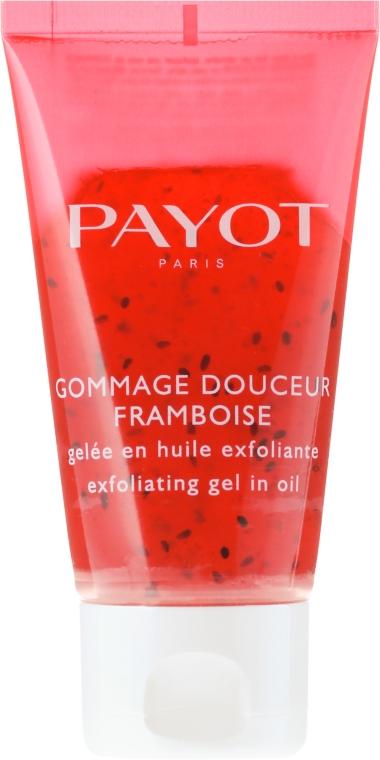 Gel gomaj cu semințe de zmeură - Payot Gommage Douceur Framboise