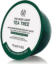 """Parfumuri și produse cosmetice Mască alginată pentru față """"Arbore de ceai"""" - The Body Shop Tea Tree Anti-Imperfection Peel-off Mask (mini)"""