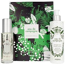 Parfumuri și produse cosmetice Sisley Eau De Compaigne Jungle Gift Set - Set (edt/100ml + sh/gel/250ml)