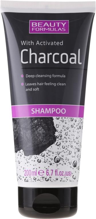 Șampon cu carbon activat - Beauty Formulas Charcoal Shampoo — Imagine N1