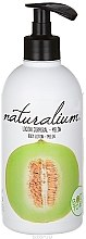 Parfumuri și produse cosmetice Loțiune nutritivă de corp pe bază de dovleac - Naturalium Body Lotion Melon