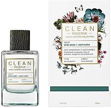 Parfumuri și produse cosmetice Clean White Amber & Warm Cotton - Apă de parfum