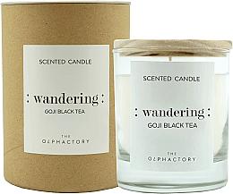 "Parfumuri și produse cosmetice Lumânare parfumată ""Fructe goji"" - Ambientair The Olphactory Wandering Goji Black Tea"