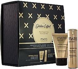 Parfumuri și produse cosmetice Set - Matis Golden Coffret (f/cr/50ml + eye/cr/15ml)
