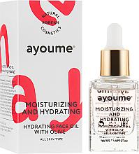 Parfumuri și produse cosmetice Ulei hidratant pentru față - Ayoume Moisturizing & Hydrating Face Oil With Olive