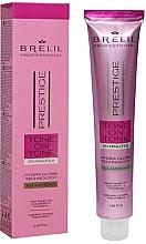 Parfumuri și produse cosmetice Vopsea-cremă de păr - Brelil Professional Prestige Tone On Tone