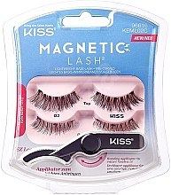 Gene false magnetice - Kiss Magnetic Lash Type 2 — Imagine N1
