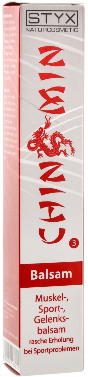 Gel de corp Chin Min - Styx Naturcosmetic Chin Min Sport Balsam — Imagine N2