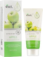 "Parfumuri și produse cosmetice Peeling-gel pentru față ""Măr"" - Ekel Apple Natural Clean Peeling Gel"