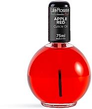 Parfumuri și produse cosmetice Ароматическое масло для кутикулы с кисточкой «Apple Red» - Lila Rossa Cuticle Oil