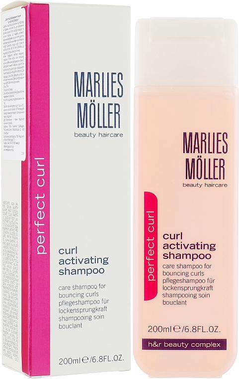Șampon pentru păr creț - Marlies Moller Perfect Curl Curl Activating Shampoo