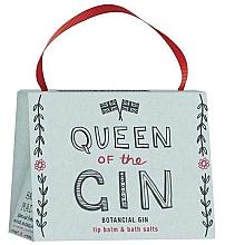 Parfumuri și produse cosmetice Set - Bath House Barefoot & Beautiful Queen Of The Gin (lip/balm/15g + b/salt/100g)