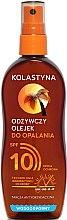 Parfumuri și produse cosmetice Ulei-Spray pentru bronzare SPF 10 - Kolastyna