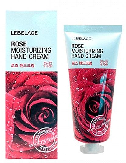 Cremă cu extract de trandafir pentru mâini - Lebelage Rose Moisturizing Hand Cream — Imagine N1