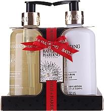 Parfumuri și produse cosmetice Set - Baylis & Harding Sweet Mandarine and Grapefruit (h/wash/300ml + b/lot/300ml)