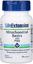 "Parfumuri și produse cosmetice Supliment alimentar ""Piroloquinolinchinonă cu PQQ"" - Life Extension Mitochondrial Basics"