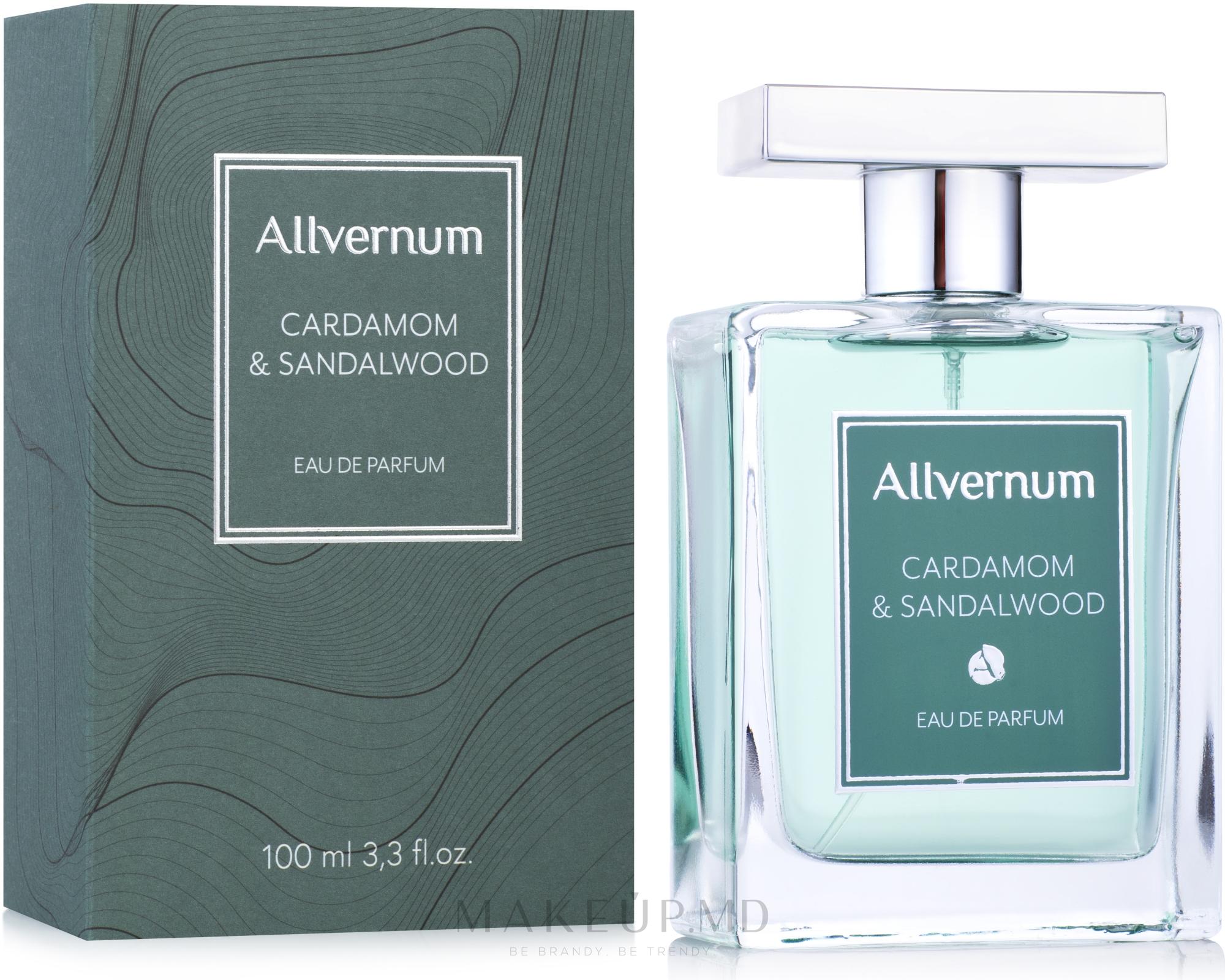 Allvernum Cardamom & Sandalwood - Парфюмированная вода — фото 100 ml