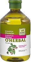 Parfumuri și produse cosmetice Șampon pentru strălucirea părului - O'Herbal Smoothing Shampoo