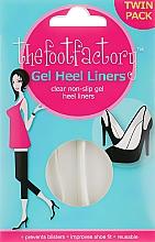 Parfumuri și produse cosmetice Pernuțe de gel pentru picioare - The Foot Factory Gel Heel Liner Twin Pack