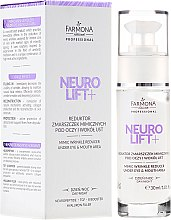 Parfumuri și produse cosmetice Crema pentru pleoape - Farmona Neuro Lift+ Mimic Wrinkle Reducer
