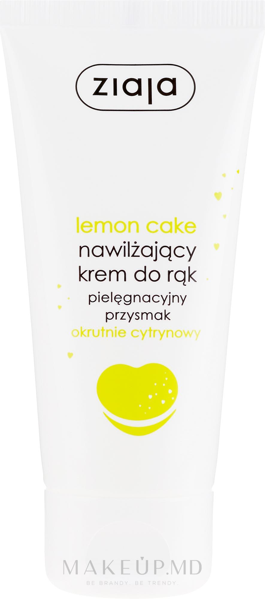 """Cremă de mâini """"Lemon cake"""" - Ziaja Hand Cream — Imagine 50 ml"""