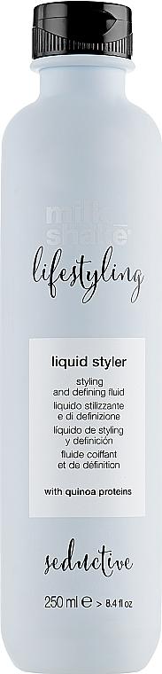 Fluid pentru aranjarea părului - Milk Shake Lifestyling Liquid Styler — Imagine N1